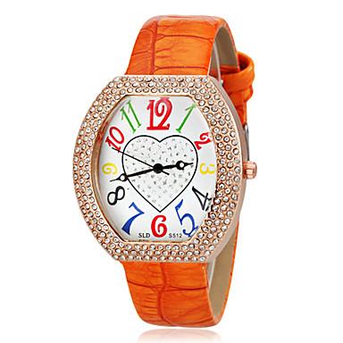 Pentru femei Diamond Watch Piața de ceas Quartz Negru / Alb / Albastru Bling bling - Maro Rosu Albastru