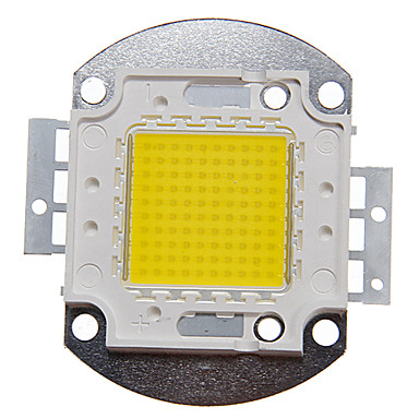 cheap LED Accessories-ZDM 1PC DIY 100W  9000-10000LM  Naturally White 4000-4500K  Light Integrated LED Module (DC33-35V 2.8A) Street Lamp for Projecting Light  Gold Wire Welding of Copper Bracket