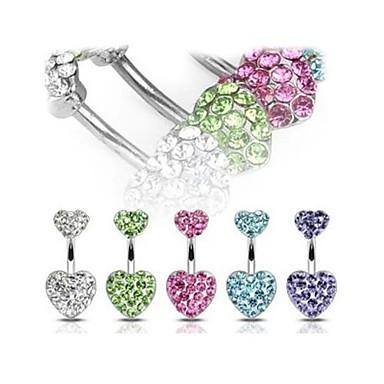 Cristal Inel inelar / Piercing pe burta Cristal femei Pentru femei Bijuterii de corp Pentru Cadouri de Crăciun / Zilnic / Casual