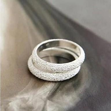 Pentru femei Band Ring 1 buc Argintiu Aliaj femei Modă Petrecere Zilnic Bijuterii