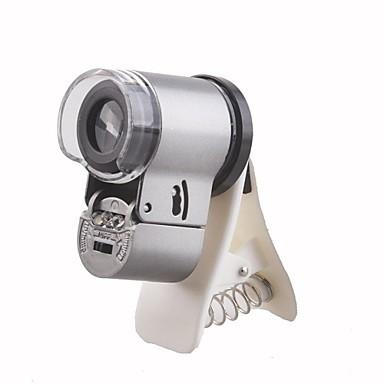 olcso Mikroszkópok és nagyítók-apexel 65x zoom vezetett clip-on mikroszkóp nagyító lencse klip mobiltelefon, mint az iPhone / Samsung / HTC