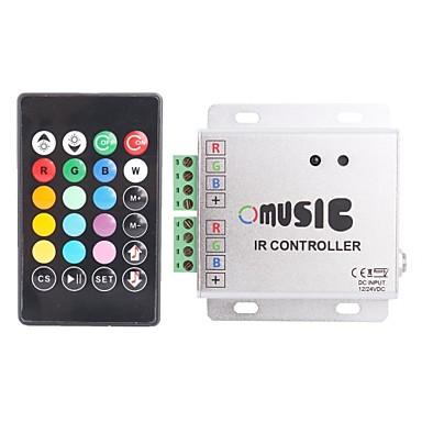 288W IR control de la distanță cu LED-uri RGB Strip Muzica controler (12 ~ 24V)