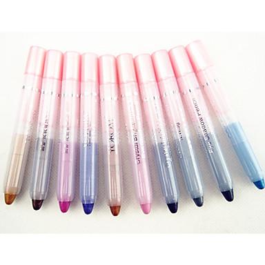 10 culori Eraser Pastel Ochi Mat Sclipici Luciu Strălucire fumuriu Impermeabil De lungă durată Modă Καθημερινό Μακιγιάζ Μακιγιάζ για Πάρτι Cosmetic Cadou