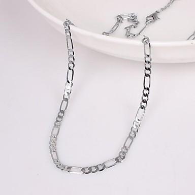 Bărbați Lănțișoare Design Unic Modă Aliaj Argintiu Coliere Bijuterii Pentru Nuntă Petrecere Cadou Zilnic Casual Sport