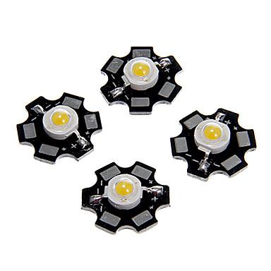 ieftine LED-uri-5 buc 1w 80-100lm cip de luminozitate ridicată condus alb cald rece alb natural natural albastru lumină super strălucitoare putere mare cu substrat de aluminiu (dc3-3.2v 280-320ma)