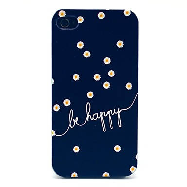 cheap iPhone Cases-Case For iPhone 4/4S iPhone 4s / 4 Back Cover Hard PC