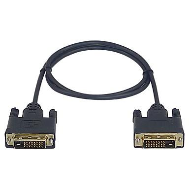 premium lwm ™ de mare viteză DVI-D de sex masculin la masculin 1m 3ft cablu pentru monitor PC-ul video de 1080p HDTV