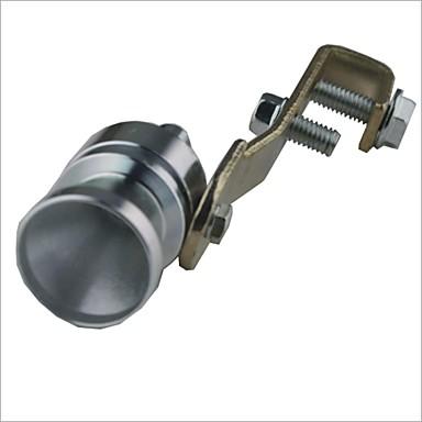 olcso Kipufogórendszerek-Car Turbo Sound fütyülős Turbófeltöltő - Ezüst (méret M)