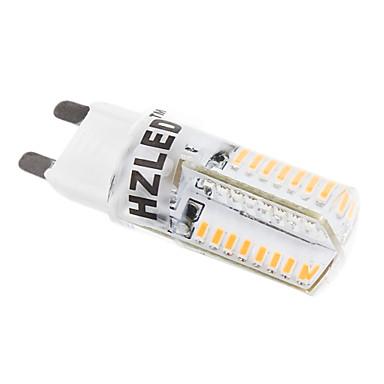 2 W Becuri LED Corn 250-350 lm G9 T 58 LED-uri de margele SMD 3014 Alb Cald 220-240 V