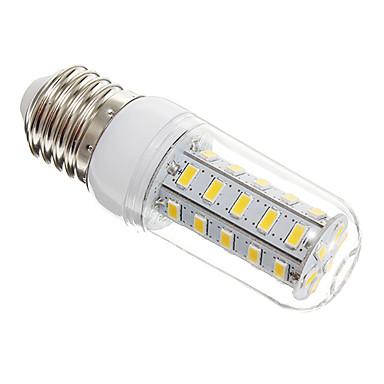 Becuri LED Corn 650 lm E26 / E27 T 36 LED-uri de margele SMD 5730 Alb Cald 220-240 V / #