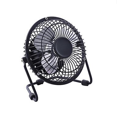 Недорогие Все для здоровья и личного пользования-Железный искусства 4-лопастной электрический вентилятор