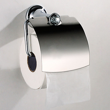 Suport Hârtie Toaletă Calitate superioară Contemporan Teak 1 piesă - Hotel baie