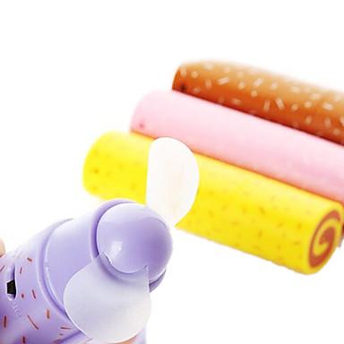 Недорогие Все для здоровья и личного пользования-Прекрасный Яйцо Форма рулона Мини Электрический вентилятор