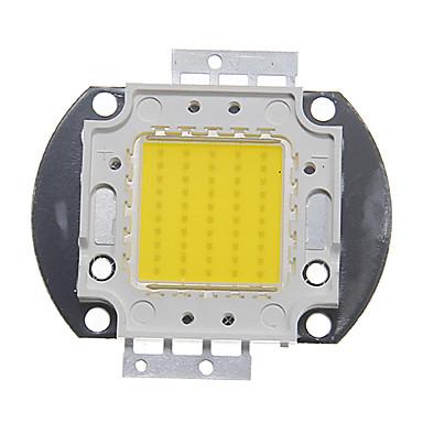 olcso LED-ek-zdm ™ diy 50W integrált led / nagy teljesítményű, 4500-5000lm természetesen fehér 4000-4500k-os fény integrált led modul (32-35v 1.3-1.5a)
