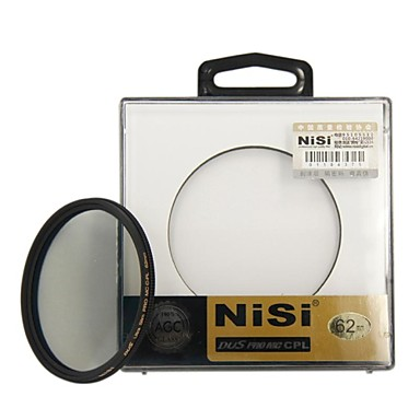 nisi® 62mm pro mc cpl multiple acoperite cu filtru polarizator circular lentile