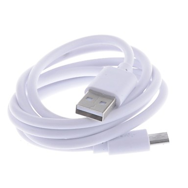 Недорогие Кейсы для Huawei других серий-USB к Micro USB Data / зарядный кабель для Samsung / HTC / Nokia (100 см)