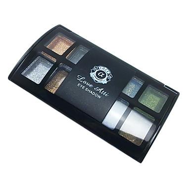 8 Culori Fard de Pleope / Pudre Ochi Mat / Sclipici / Luciu Strălucire / fumuriu Natural Καθημερινό Μακιγιάζ / Σμόκι Μακιγιάζ Cosmetic