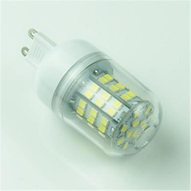 1 buc 4.5 W Becuri LED Corn 400 lm G9 T 60 LED-uri de margele SMD 2835 Decorativ Alb Rece 220-240 V