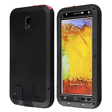 Недорогие Чехол Samsung-Кейс для Назначение SSamsung Galaxy Note 3 Водонепроницаемый / Защита от удара / Защита от пыли Чехол броня Металл