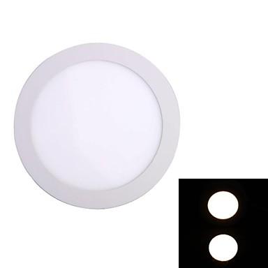 lumină albă caldă a condus lumina panou (mufă DC) 1750lm AC85-260V 18W 3000K