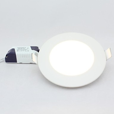 ZDM ™ 6W 480lm rotund panou downlight, montură 105mm gaura, 100 ~ 240V