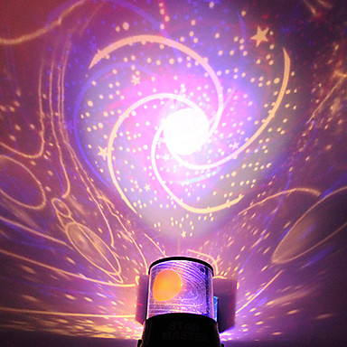 olcso LED izzó újdonságok-diy romantikus galaxis csillagos ég projektor éjszakai fény ünnepelt fél