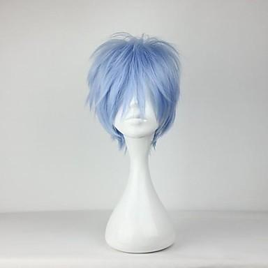Cosplay Kuroko Tetsuya Peruci de Cosplay Bărbați 12 inch Fibră Rezistentă la Căldură Albastru Anime