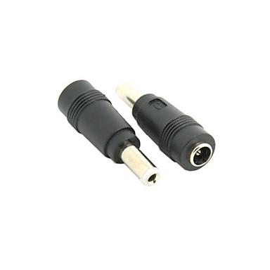 10pcs putere dc 5,5 x 2.5mm mufă de sex masculin și 5,5 x 2.1mm conector adaptor jack de sex feminin