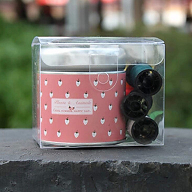 Недорогие Все для здоровья и личного пользования-Flower Sewing Box Random Color