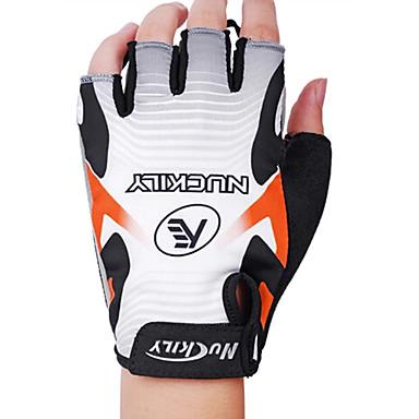 Nuckily Mănuși pentru ciclism Respirabil Purtabil Rezistent la uzură Rezistent la șoc Activități/ Mănuși de sport Ciclism montan Alb pentru Ciclism / Bicicletă