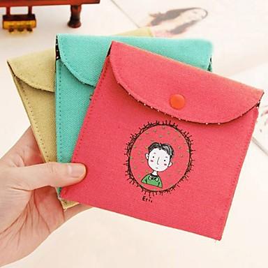 Недорогие Все для здоровья и личного пользования-винтажном стиле детства подпись хлопка гигиенических салфеток сумка случайный цвет