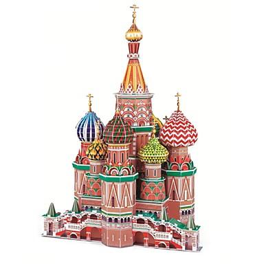 olcso 3D Puzzle-Jigsaw Puzzle 3D építőjátékok Építőkockák DIY játékok híres épületek Papír Beige Építő játékok