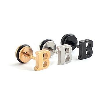 olcso Testékszerek-Testékszer 1.2 cm Fül piercing Rozsdamentes acél Jelmez ékszerek Kompatibilitás Esküvő / Parti / Napi 1.2*0.2*0.1 cm Nyár
