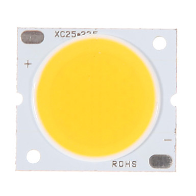 zdm® 1pc 30w cob integrat condus de cald alb 3000-3500k 2800-3000 lm luminos pur sârmă de aur a condus cip LED pentru suprafața luminescente 20mm (dc30-34v 800-900ma)