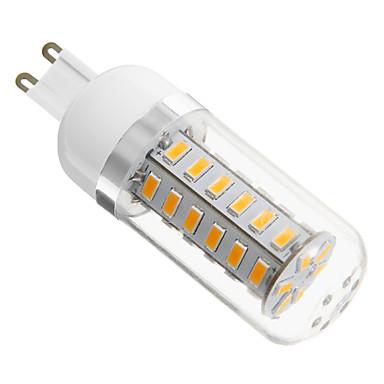Becuri LED Bi-pin 420 lm G9 42 LED-uri de margele SMD 5730 Alb Cald 220-240 V