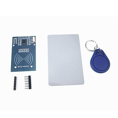 olcso Solar Controllers-mfrc-522 rc522 RFID modul IC-kártya indukciós érzékelő ingyenes s50-kártya kulcstartó