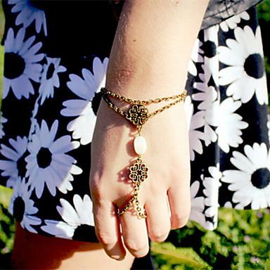 رخيصةأون أساور-نسائي أساور ساحرة سبيكة مجوهرات سوار برونز من أجل مناسب للحفلات مناسب للبس اليومي فضفاض