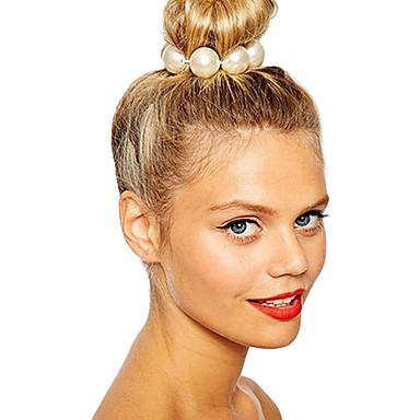 Pentru femei Elegant Imitație de Perle Elastice de păr Petrecere Zilnic