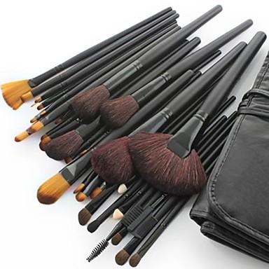 Profesional Machiaj perii Seturi perie 32pcs Perie din Păr de Capră / Perie cal / Păr sintetic Pensule de Machiaj pentru Set Pensule Machiaj / Cal / Perie Fibre Artificiale