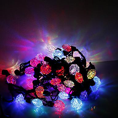 5m 50 LED-uri de Crăciun Halloween lumini festive, decorative benzi lumini-inimi și săgeți (220V)
