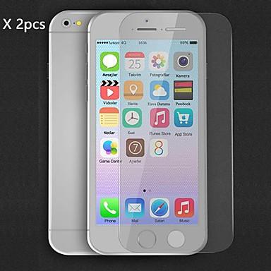 Ecran protector pentru Apple iPhone 6s Plus / iPhone 6 Plus 2 buc Ecran Protecție Față High Definition (HD)