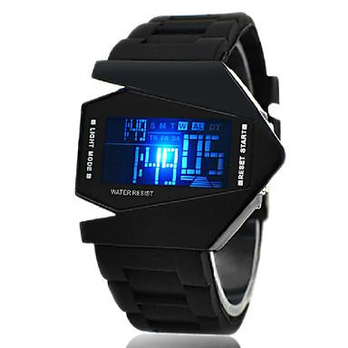 Bărbați Ceas Sport Ceas de Mână Ceas digital Digital Silicon Negru / Alb / Albastru Alarmă Calendar Cronograf Piloane de Menținut Carnea Negru Maro Alb Un an Durată de Viaţă Baterie / LED / LCD