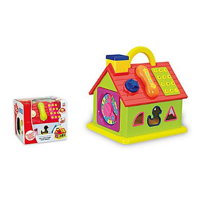 olcso puzzle játékok-zene épületben blokk ház