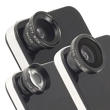 universal 2x magnetic teleobiectiv, ochi de pește și unghi larg de lentile macro pentru iPhone și alții