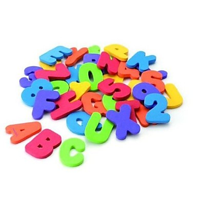 olcso Math játékok-36 db Munchkin fürdő tanul leveleket& számok stick baby fürdőszoba játék
