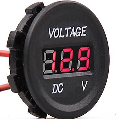 DC 12V-24V autós digitális LED feszültség elektromos volt mérő monitor  kijelző teszter 1820485 2019 – €8.99 b60caa73eb