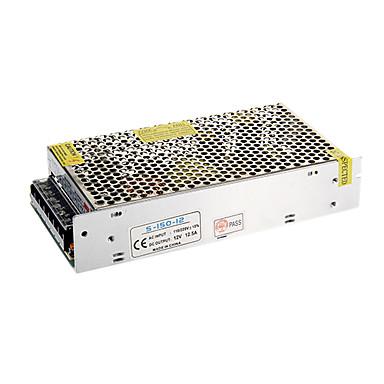 olcso LED-es kiegészítők-zdm 1pc kimenet 12v dc 12.5a max 150 watt max ac / dc kapcsoló tápegység-átalakító (ac110-220v-től dc12v-ig)