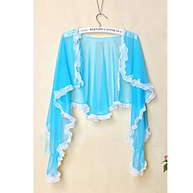 Недорогие Все для здоровья и личного пользования-Вс платок для вождения езда анти-УФ-защиты от солнца одеждой с длинным рукавом кардиган случайный цвет