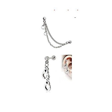 Cristal Piercing Ureche Teak Bijuterii de corp Pentru Nuntă / Petrecere / Zilnic / Casual