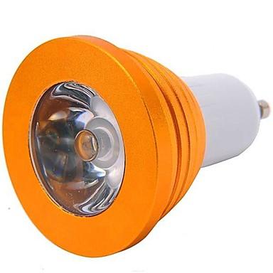 YWXLIGHT® 1 buc 3 W 200-300 lm GU10 Spoturi LED 1 LED-uri de margele LED Putere Mare Telecomandă RGB 85-265 V